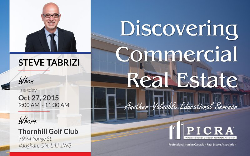 Discovering commercial real estate seminar